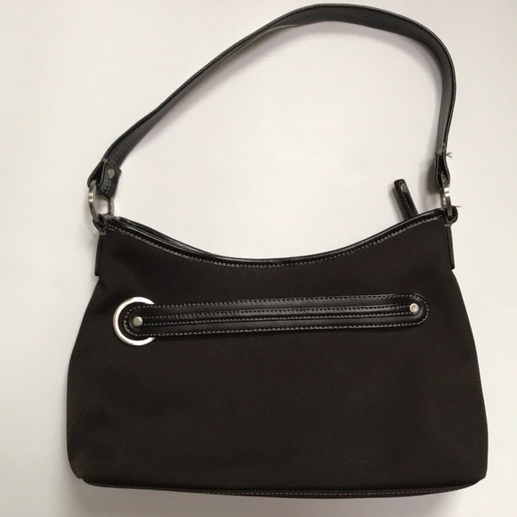 Cole Haan Handbags - Cole Haan Leather   Nylon Shoulder Bag 0ed059c14c515